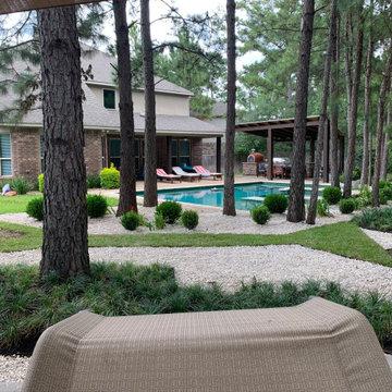 Modern Rustic Garden
