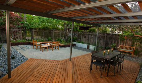 Patio Details: Simple Materials Make for a Sophisticated Space