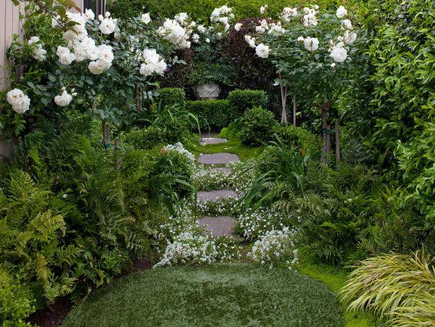 Стиль шебби-шик Сад by Shepard Design Landscape Architecture - AJ Shepard