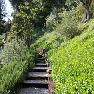 Railroad Tie Steps Houzz