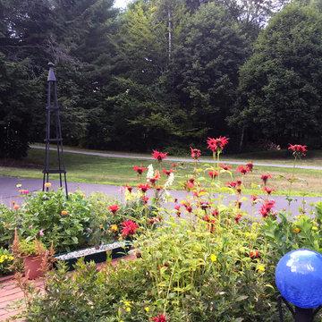 Timber Ridge Garden- perennial border