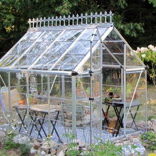 Tiny Backyard Greenhouse