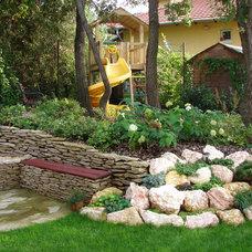 Eclectic Landscape by Exclusive Eden Landscape&Garden Design