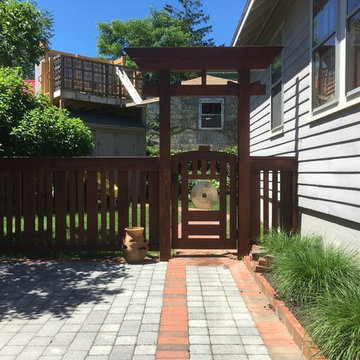 Torii Gate and Fence - Completed Project