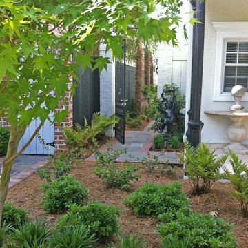 Townhouse Courtyards