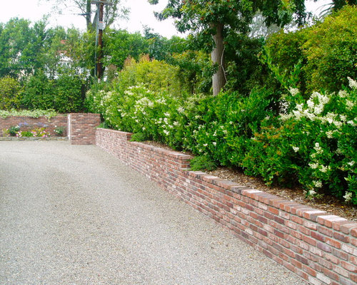 Brick Retaining Wall Design Ideas Remodel Pictures Houzz