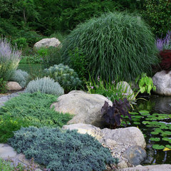 traditional landscape by Amy Martin Landscape Design