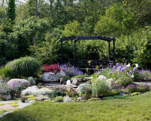 Plants around ponds home design ideas pictures remodel for Plants around garden pond