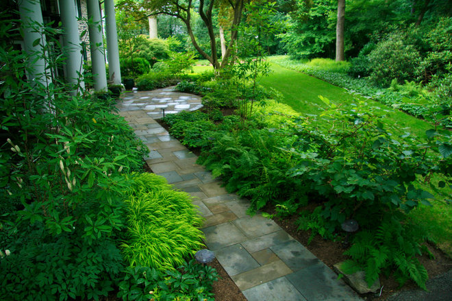 Traditional Landscape by Donald Pell - Gardens