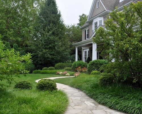 Design Ideas For A Traditional Stone Landscaping In Chicago.