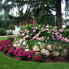 Traditional Landscape by Landscape Design Services
