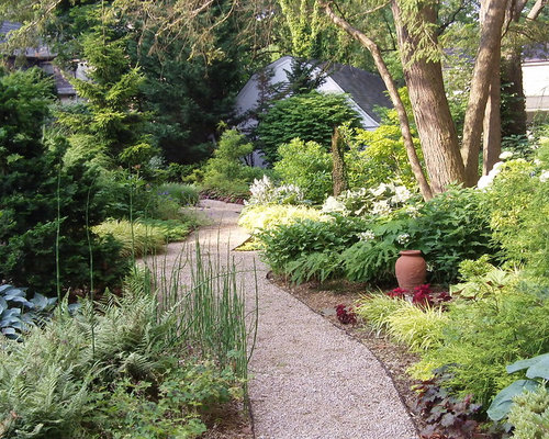 Crushed Stone Pathways : Crushed stone path home design ideas renovations photos