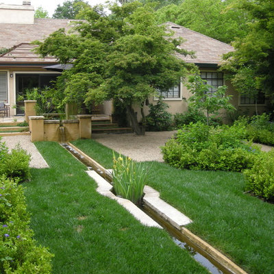 Design ideas for a traditional water fountain landscape in San Francisco.