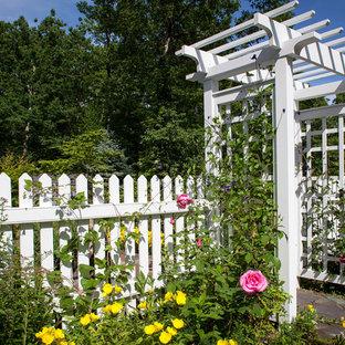 Idee per un giardino tradizionale esposto in pieno sole
