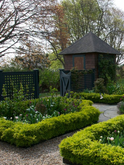 Traditional Landscape by MJ McCabe-Garden Design