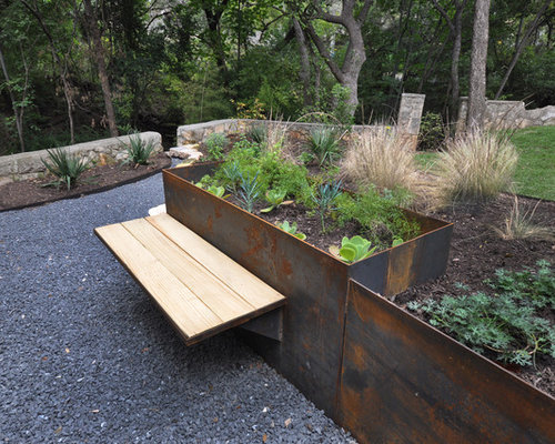 Stone Planter Box Houzz