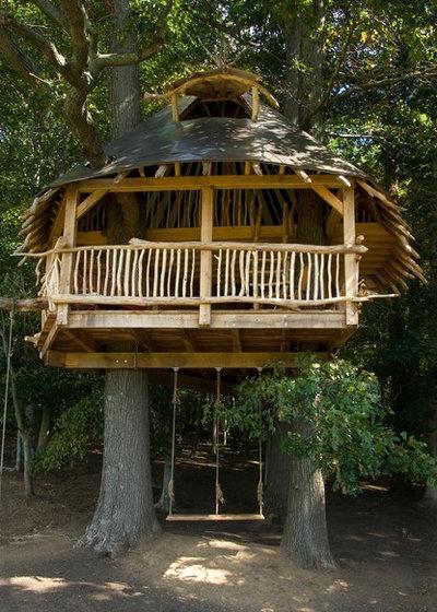 Kolonialstil Garten By Hugh Lofting Timber Framing, Inc.