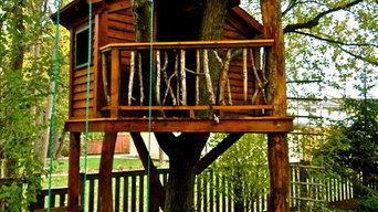 Tree Houses, Landscape Carpentry
