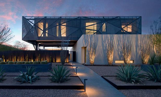 Le case di houzz lusso ultra moderno nel deserto del nevada for Case moderne nel sud della california