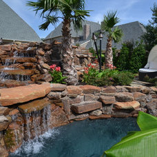 Tropical Landscape by Mike Farley Pool Designer