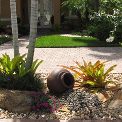 tropical landscape Tropical Rock Garden