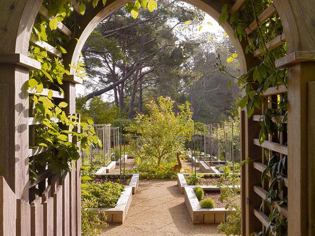 Traditional Garden by Zeterre Landscape Architecture