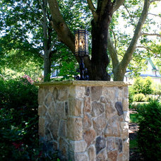 Traditional Landscape by House of Cline Design