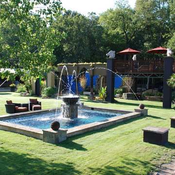 Tuscan Rural Ranch With Water Feature