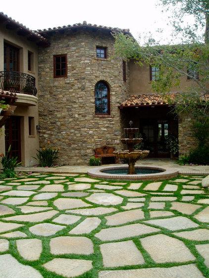 Mediterranean Landscape by The Design Build Company