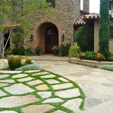 Mediterranean Landscape by The Design Build Company