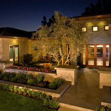 Contemporary Landscape by GRADY-O-GRADY Construction & Development, Inc.