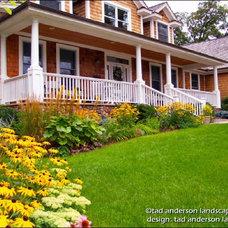 Traditional Landscape by Anderson Design / ErosionZ.  Minnesota Landscape.