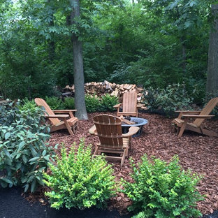 18 Beautiful Mulch Landscaping With A Fire Pit Pictures Ideas October 2020 Houzz