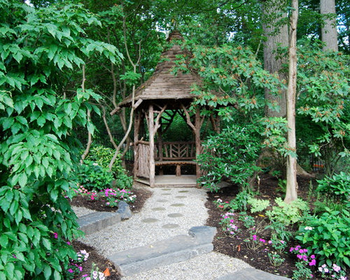 Houzz Garden Gazebo Design Ideas Remodel Pictures