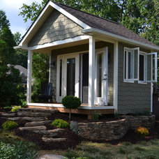 Traditional Landscape by Exterior Additions LLC