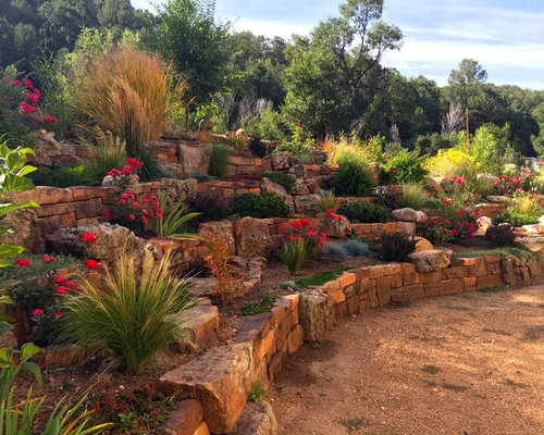 Traditional albuquerque landscape ideas designs remodels for Landscaping rocks albuquerque