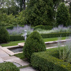 Herb Garden With Boxwood Contemporary Landscape