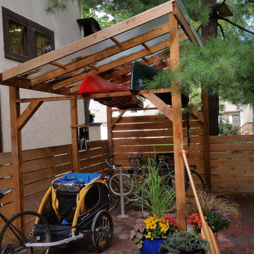 Uptown Outdoor Dining Nook and Kayak/Bike Shed