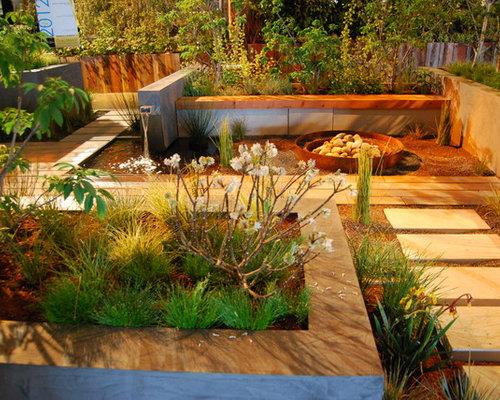Jardin moderne parterre de fleur photos et id es d co de for Parterre jardin moderne
