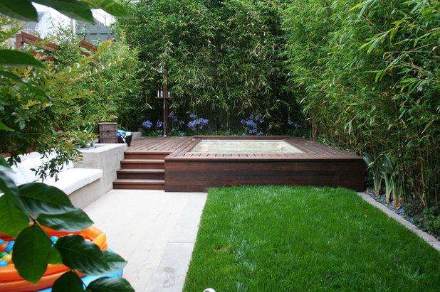 Modern Garten by Frank & Grossman Landscape Contractors, Inc.
