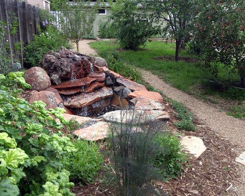 jardin victorien avec un paillis photos et id es d co de jardins. Black Bedroom Furniture Sets. Home Design Ideas