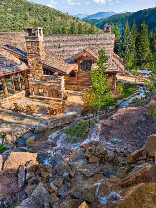 Save email for Log home landscape design