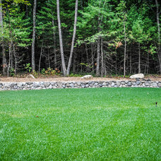 Traditional Landscape by Natural Stone Wall Solutions, Inc.