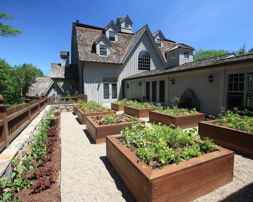 Building Vegetable Garden Boxes Houzz