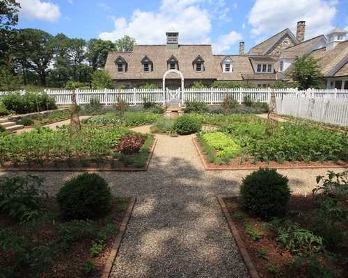 Front Yard Vegetable Garden Houzz