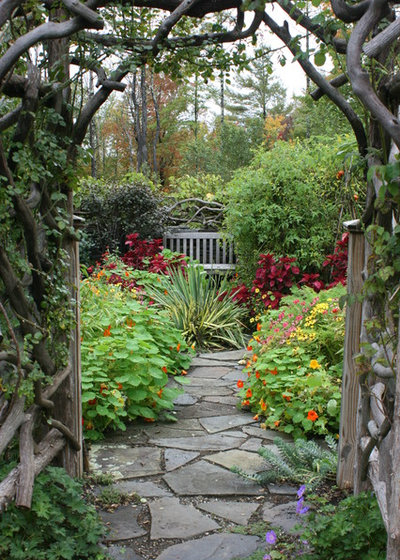 Traditional Garden by Bloom Landscape Design and Fine Gardening Service