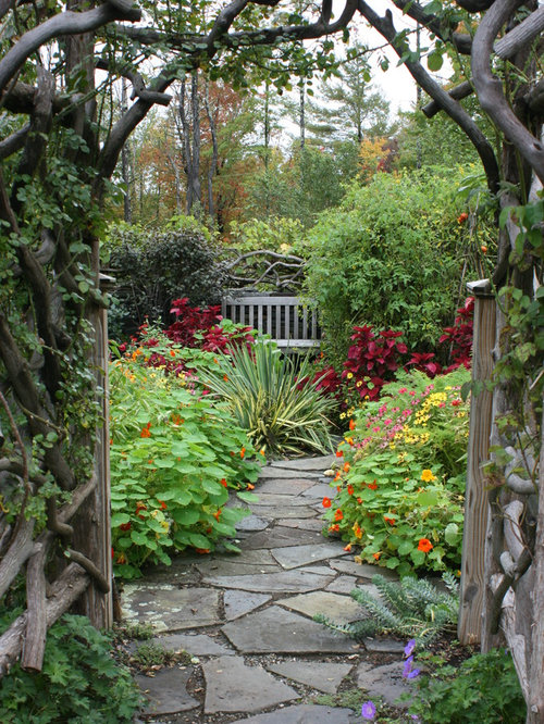 Houzz Pictures Of Flower Garden Ideas Design Ideas Remodel