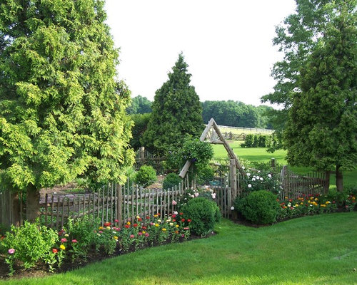 Rural garden home design ideas renovations photos for Rural garden designs
