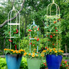 10 Container Gardens That Mix Edible and Ornamental Plants