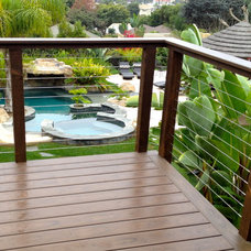 Tropical Landscape by San Diego Cable Railings